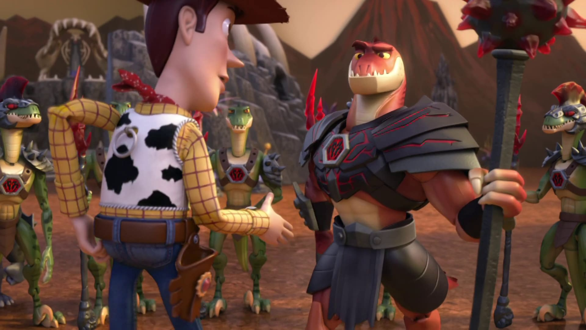 Reptillus Maximus - Toy Story That Time Forgot Clip