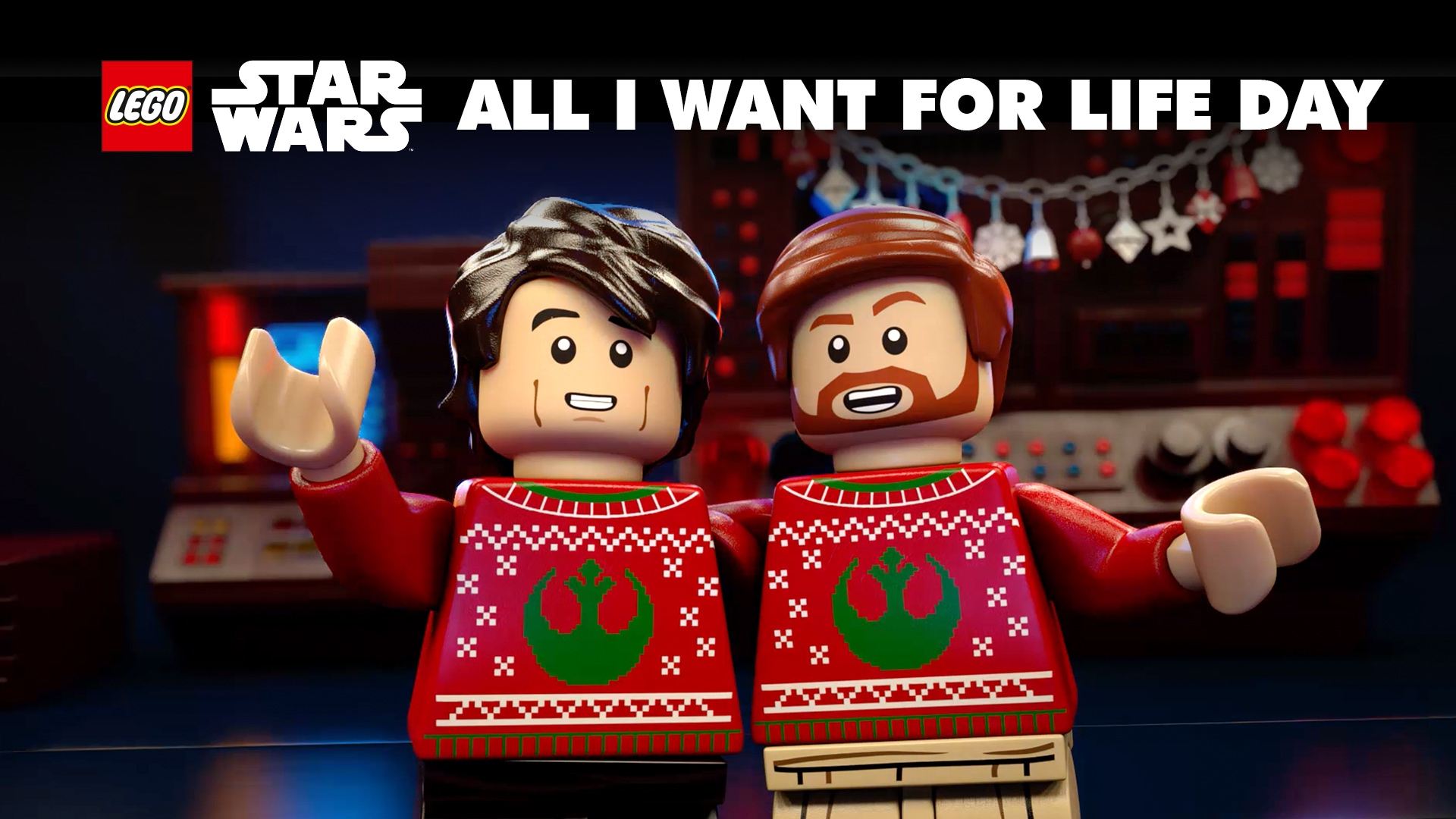 All I Want For Life Day | LEGO STAR WARS: Celebrate the Season