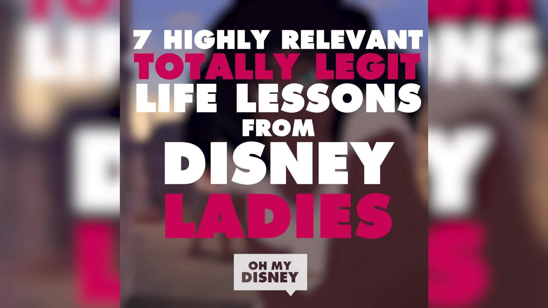 7 Life Lessons from Disney Ladies