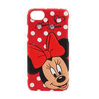 Image of Minnie Mouse Leather iPhone 7/6 Case # 1