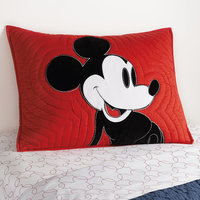 Mickey Mouse Color Block Mickey Sham by Ethan Allen