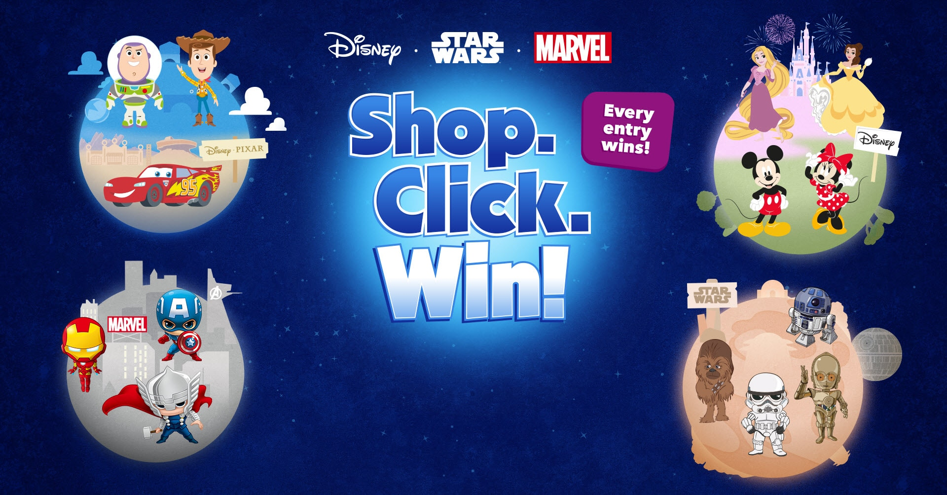 Shop Click Win Competition Spot