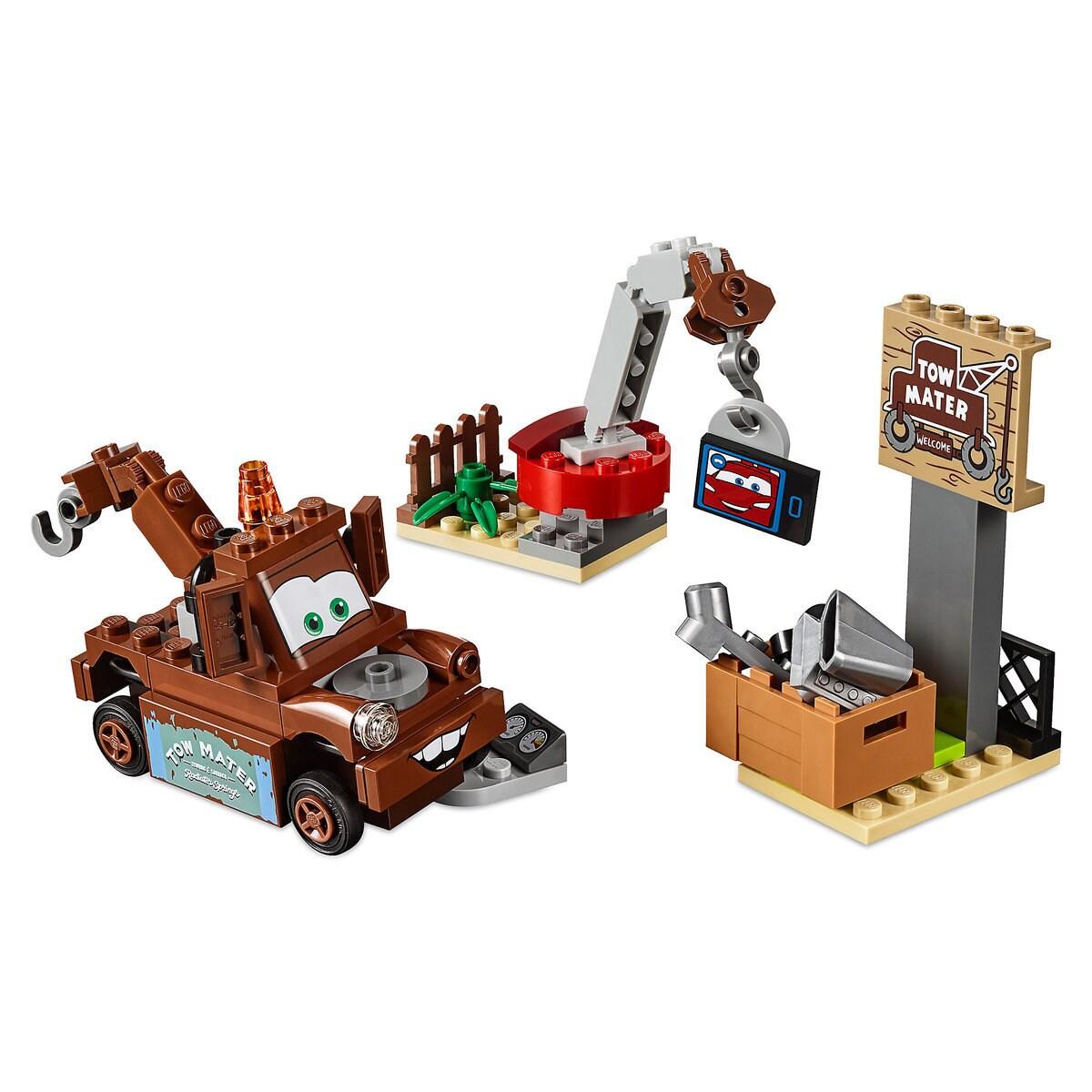 Mater S Junkyard Playset By Lego Juniors Cars 3 Shopdisney