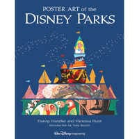 Image of Poster Art of the Disney Parks Book # 1