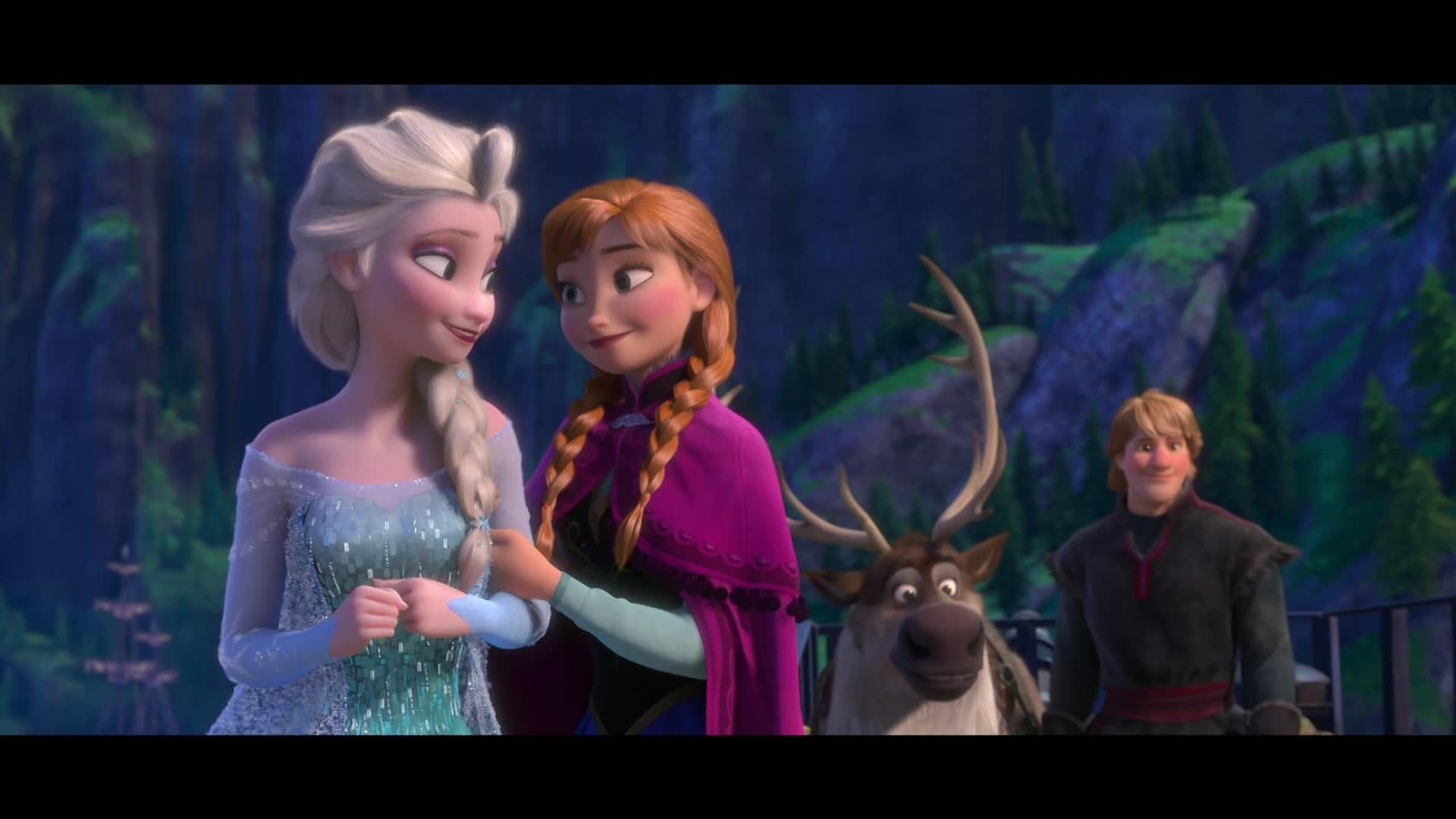 Die Eiskönigin - Fröhliche Feiertage mit der Familie und ein glückliches neus Jahr