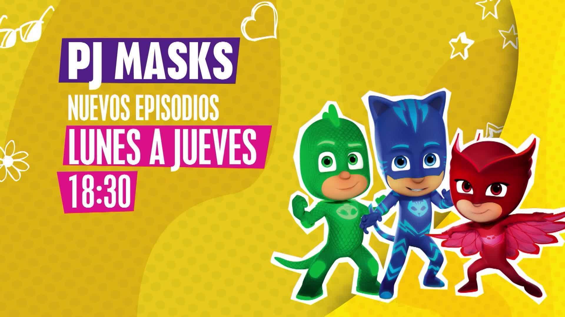 """¡Nuevos episodios de """"PJ Masks""""!"""