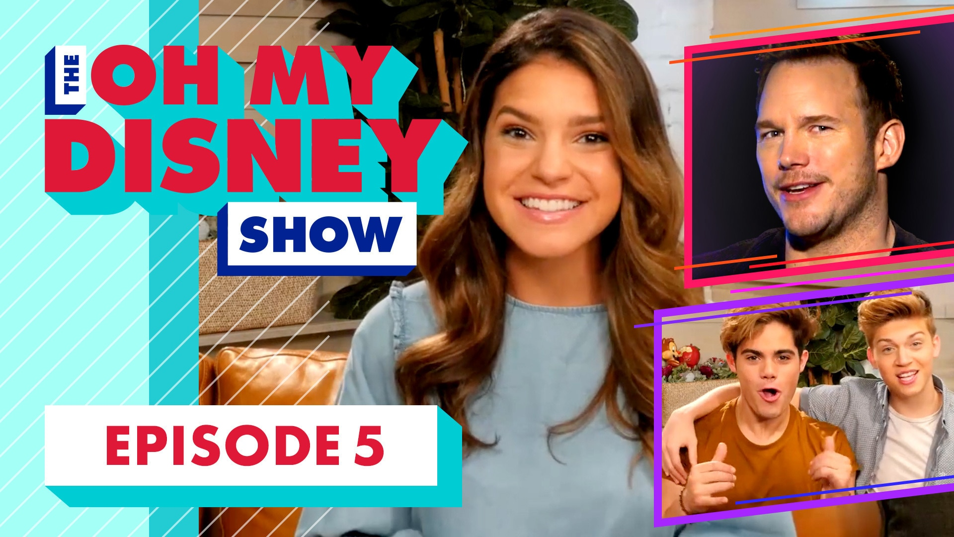 The Oh My Disney Show: The Cast of Guardians of the Galaxy Vol. 2 and FIYM