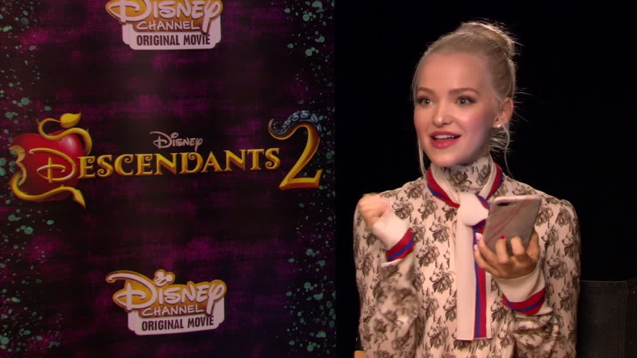 Dove Cameron and Sofia Carson Take the Descendants Quiz | Oh My Disney