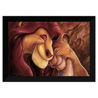 Image of The Lion King ''Pride Love Everlasting'' Giclée by Darren Wilson # 6