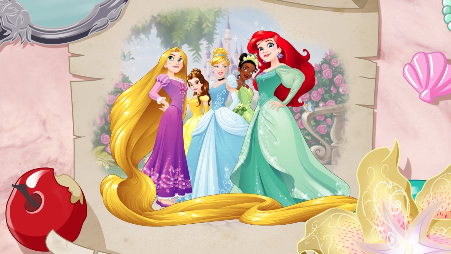 Disney Princesas – Coloreando