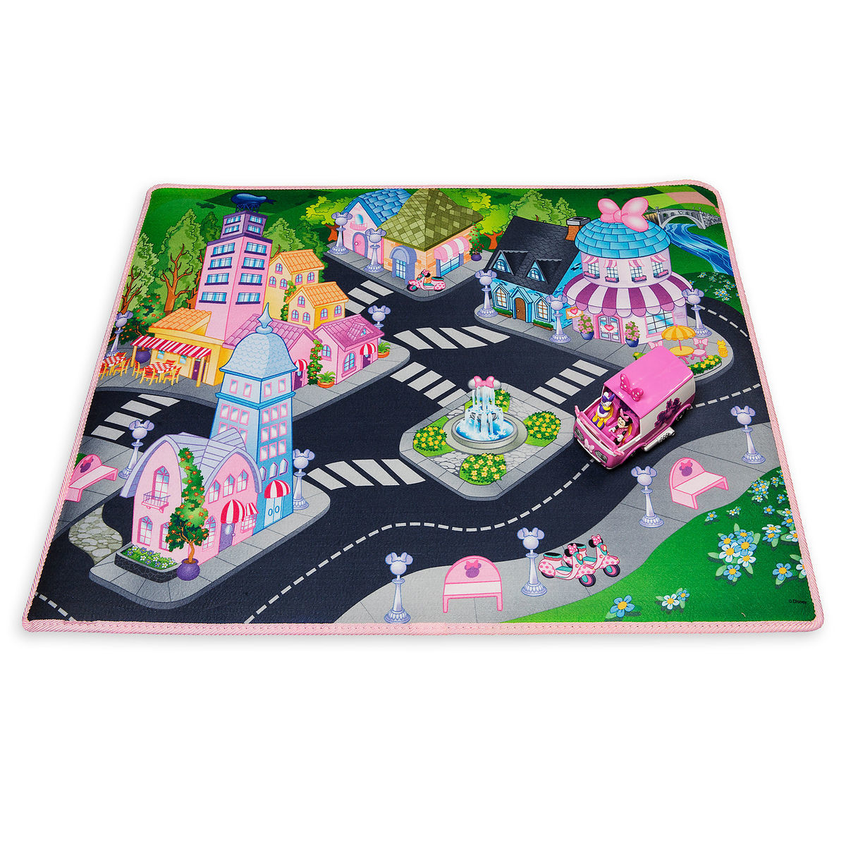 Minnie Mouse Playmat With Van Shopdisney