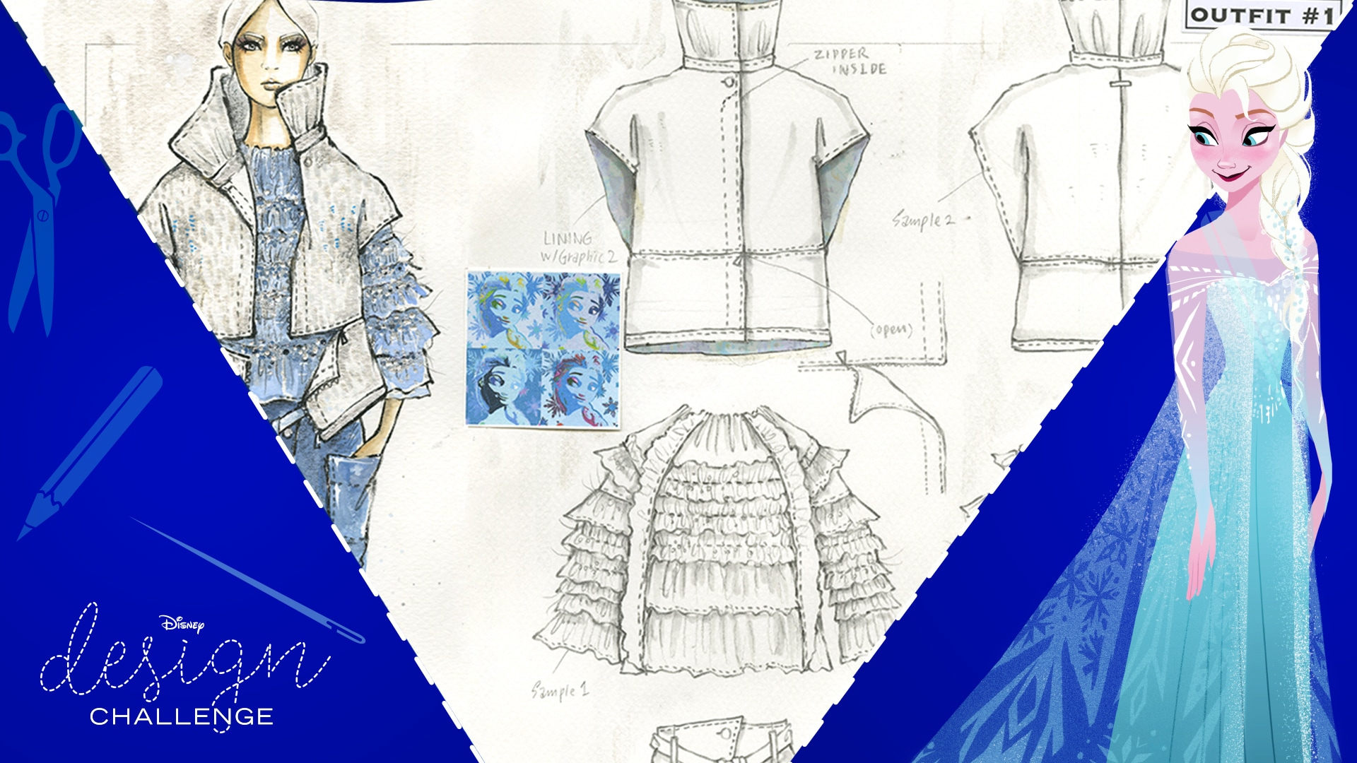 Otis Fashion Students Take On Disney Design Challenge Frozen Fashion | Disney Style