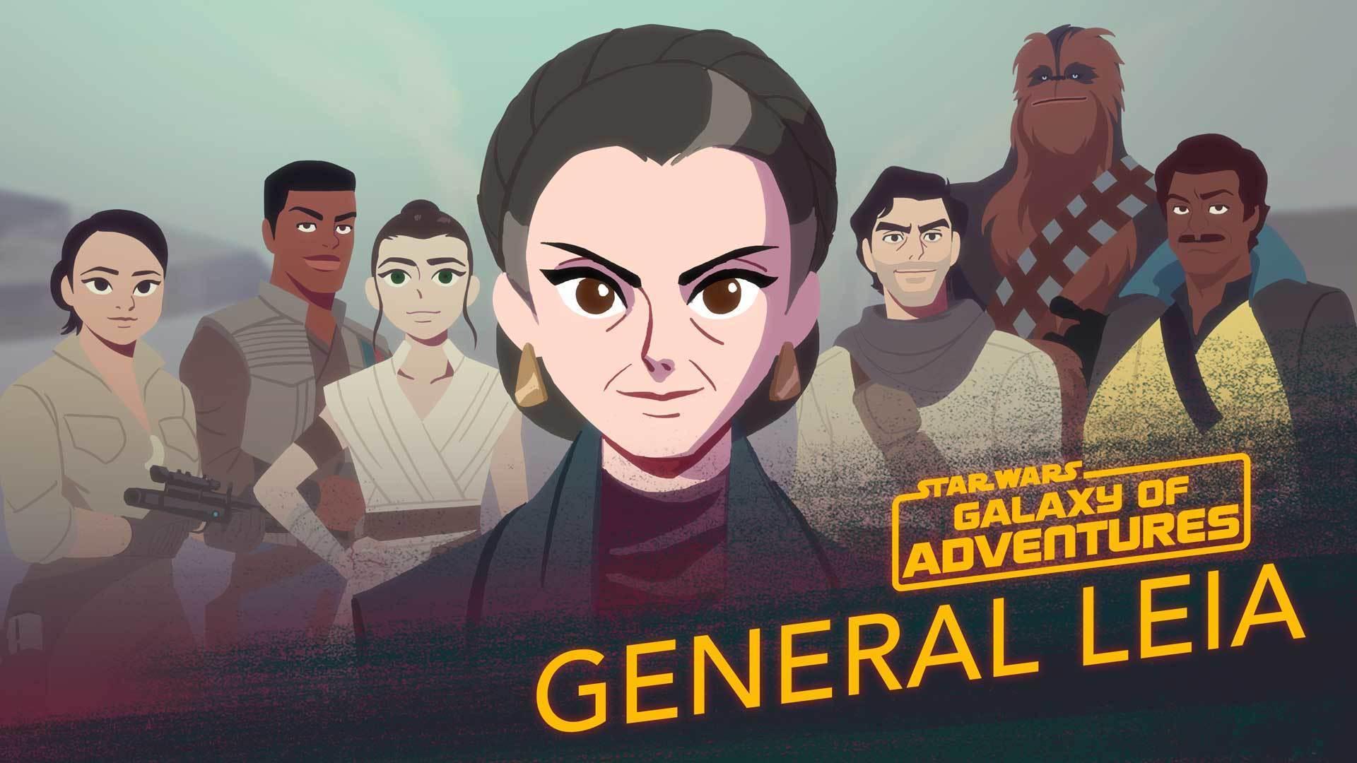 Leia Organa - A Princess, A General, A Mentor | Star Wars Galaxy of Adventures
