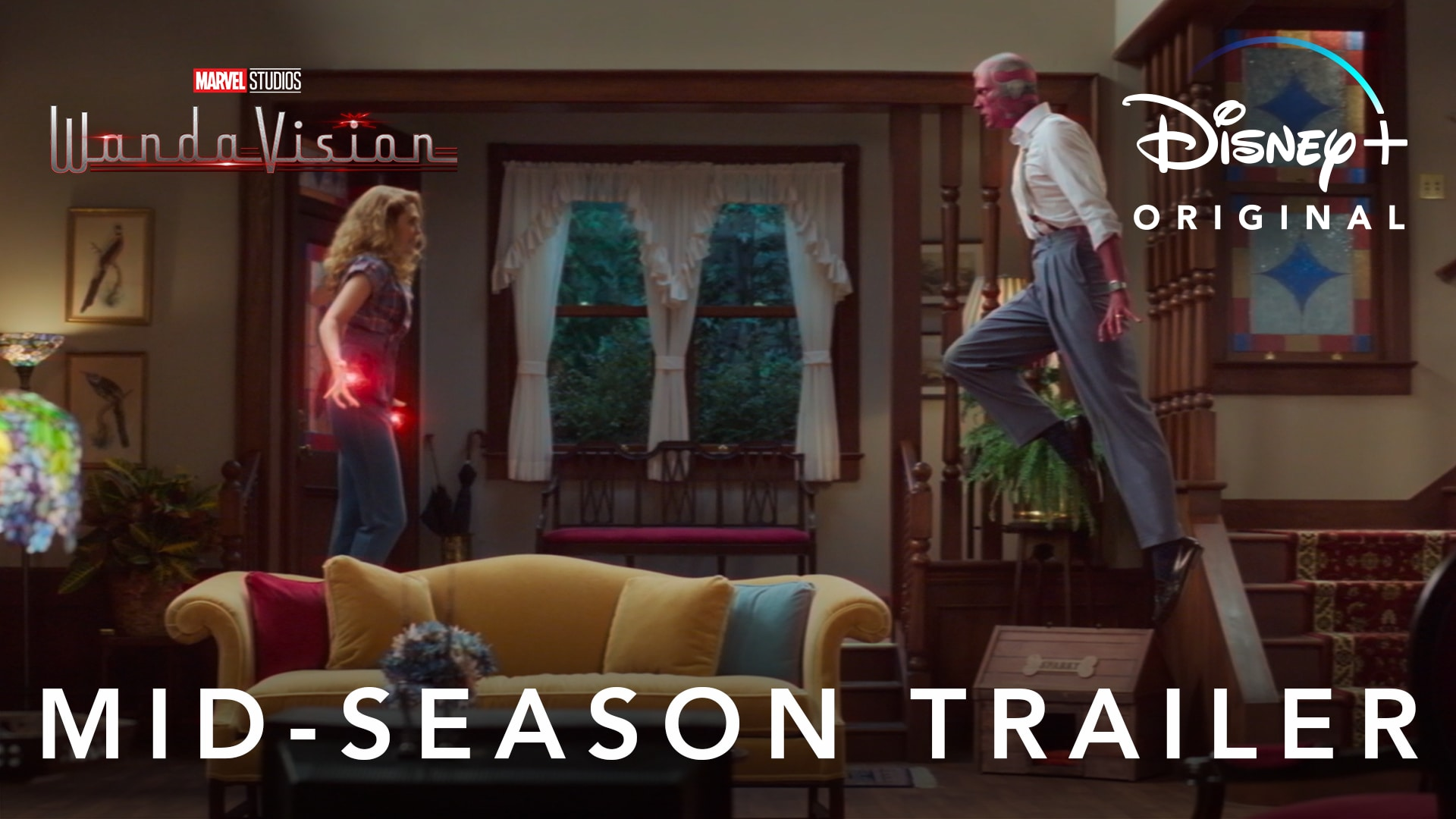 Mid-Season Trailer | WandaVision | Disney+