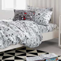 Image of Mickey Mouse Comic Strip Duvet Cover by Ethan Allen # 2