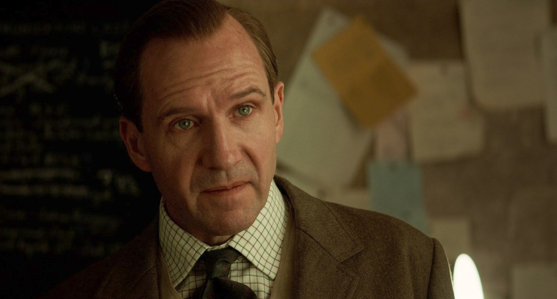 "Ralph Fiennes (as Duke of Oxford) in the movie ""The King's Man"""