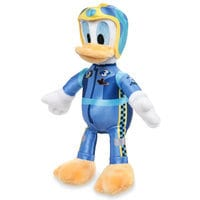 Donald Duck Plush - Mickey and the Roadster Racers - Small - 8 3/4''