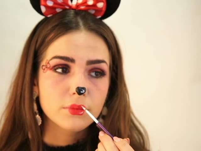 Minnie Maus Schminktutorial