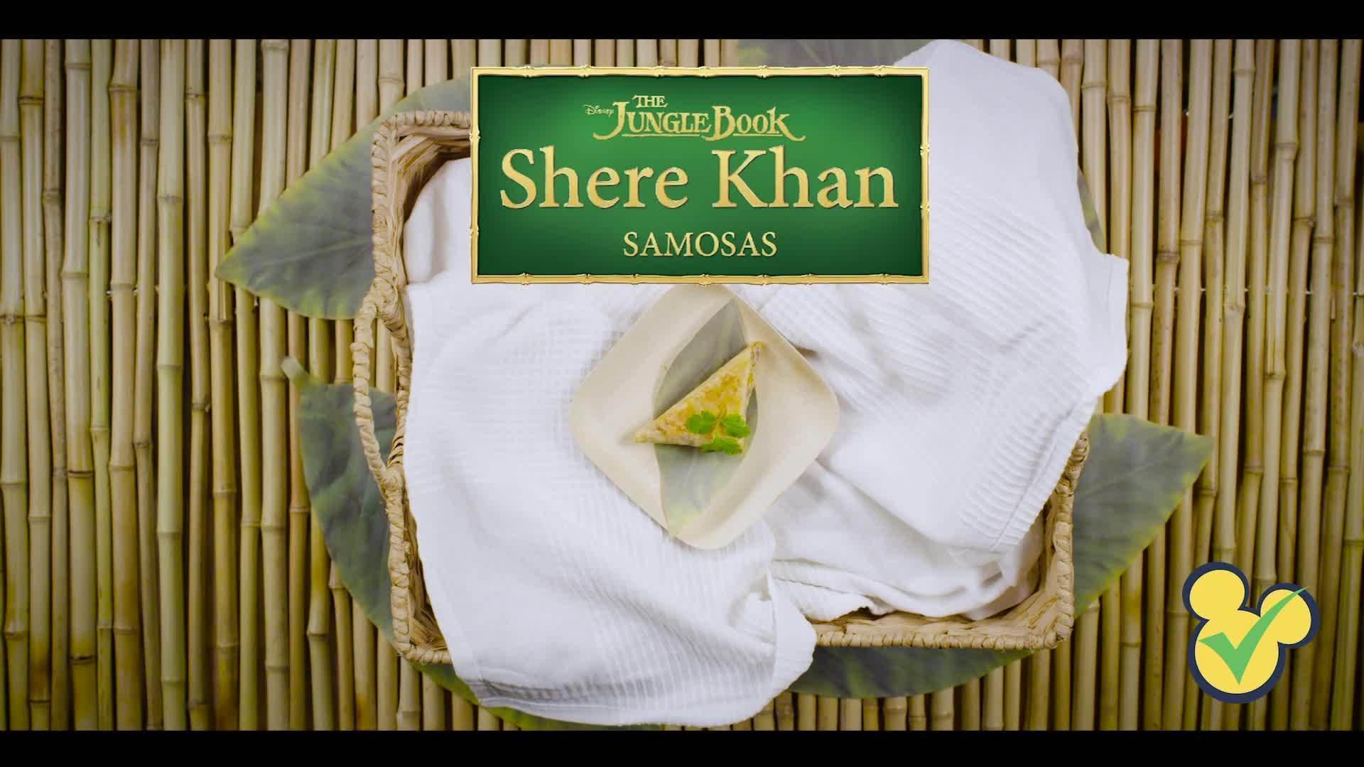Jungle Book - Shere Khan Samosas | Dishes By Disney