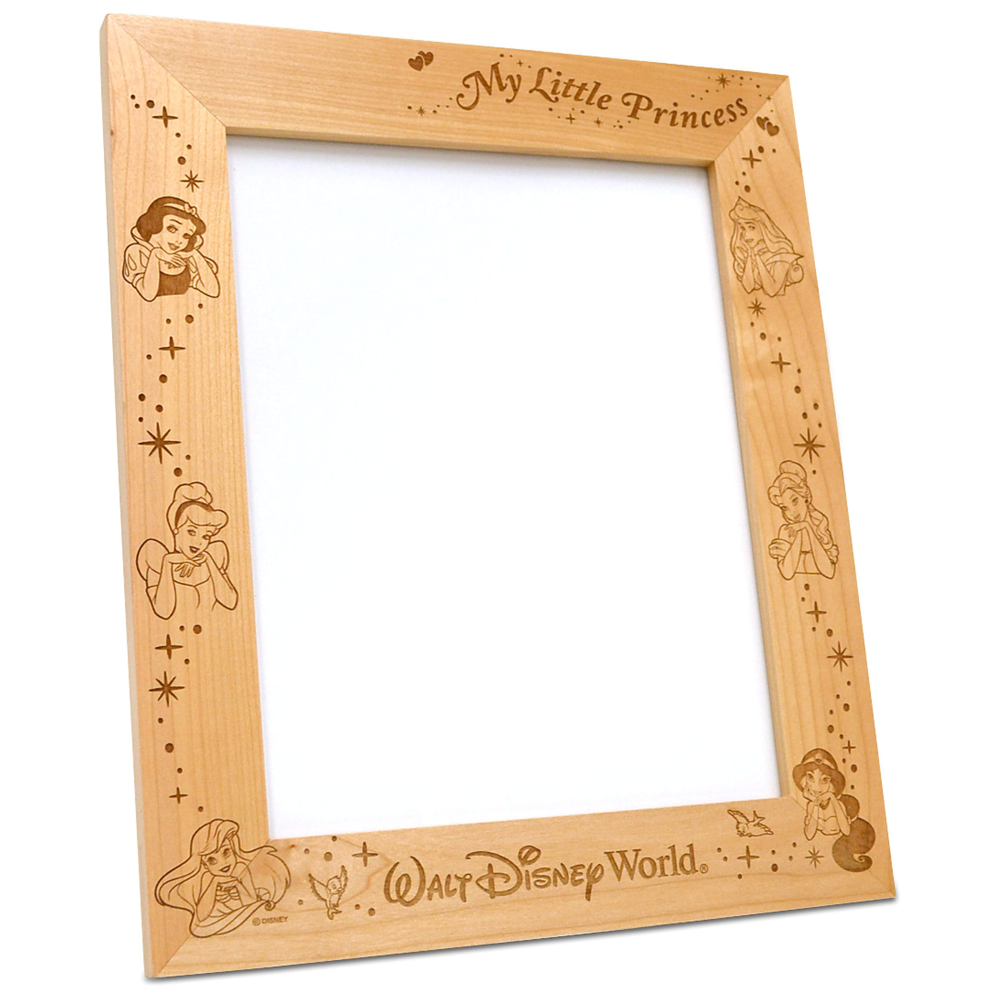 Disney Princess 8'' x 10'' Frame by Arribas - Personalizable
