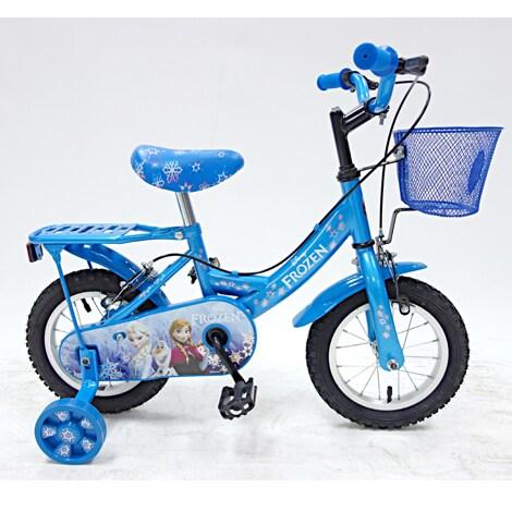 จักรยานลายผจญภัยคำสาปราชินีหิมะ 12 นิ้ว
