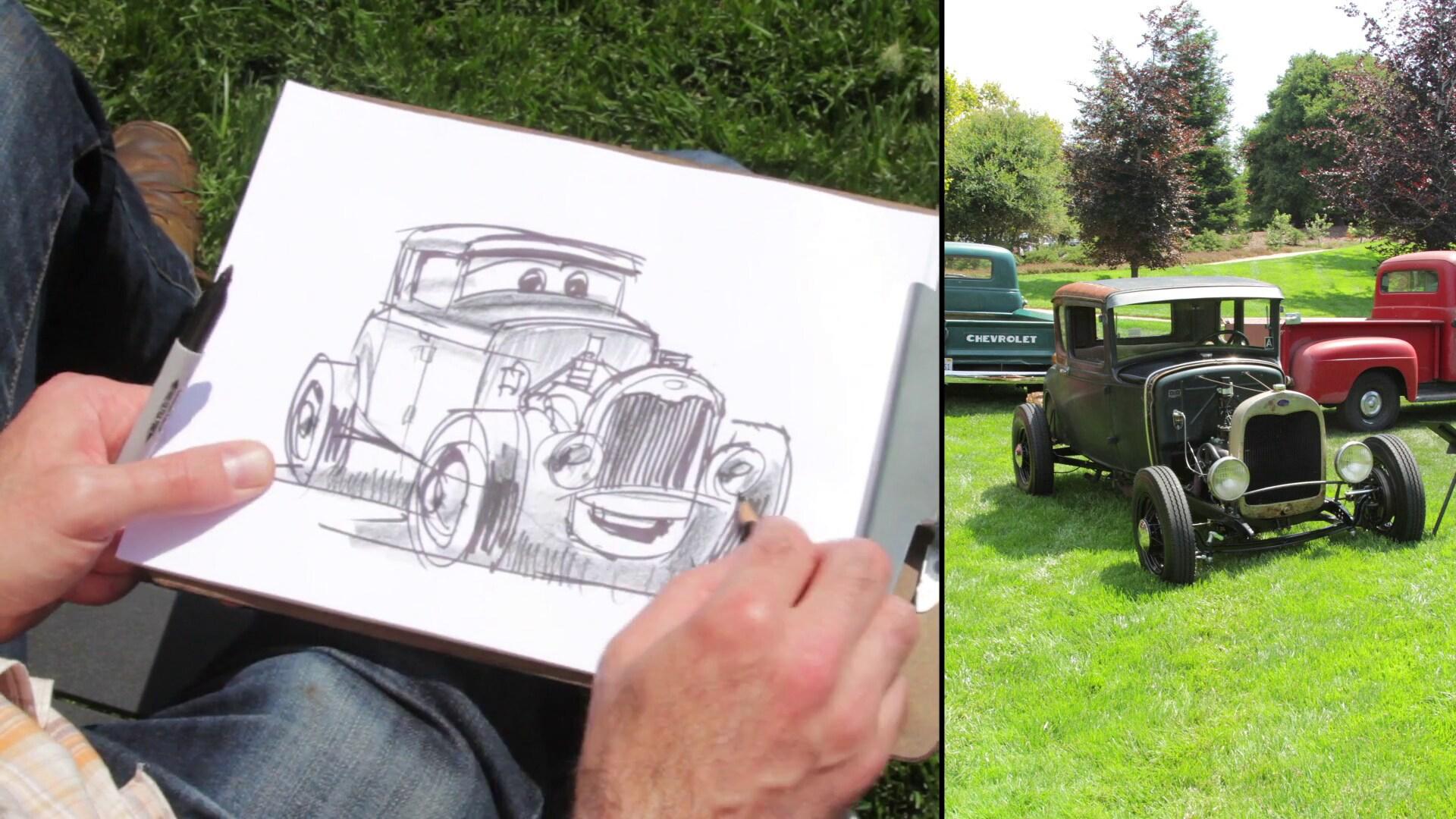 Cars-ifying Pixar's Auto Show, Motorama | Disney Insider