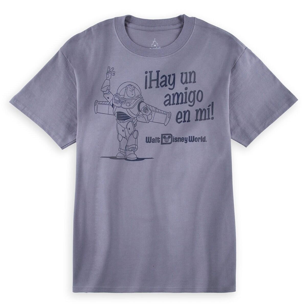 Buzz Lightyear ''Hay Un Amigo en Mi!'' Tee for Adults - Walt ...