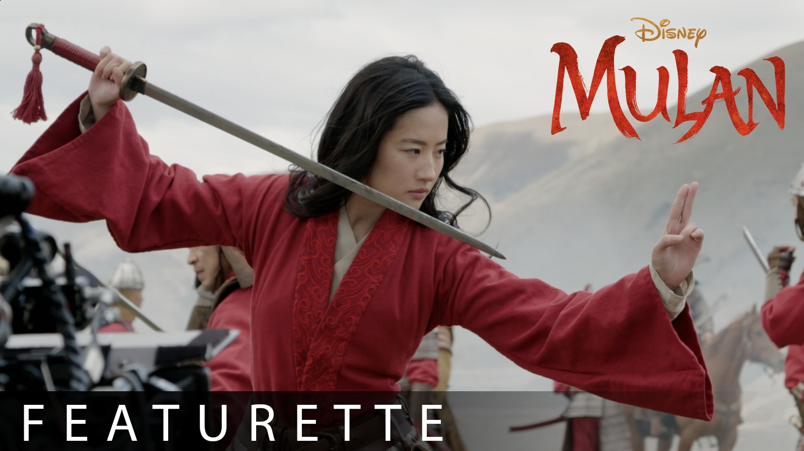 Disney's Mulan I Stunts Featurette