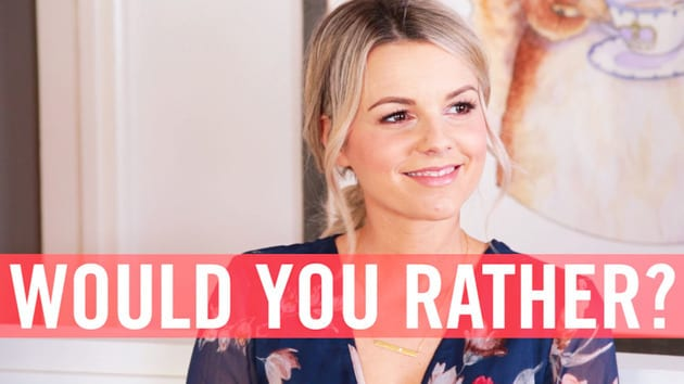 Would You Rather with Ali Fedotowsky | Babble