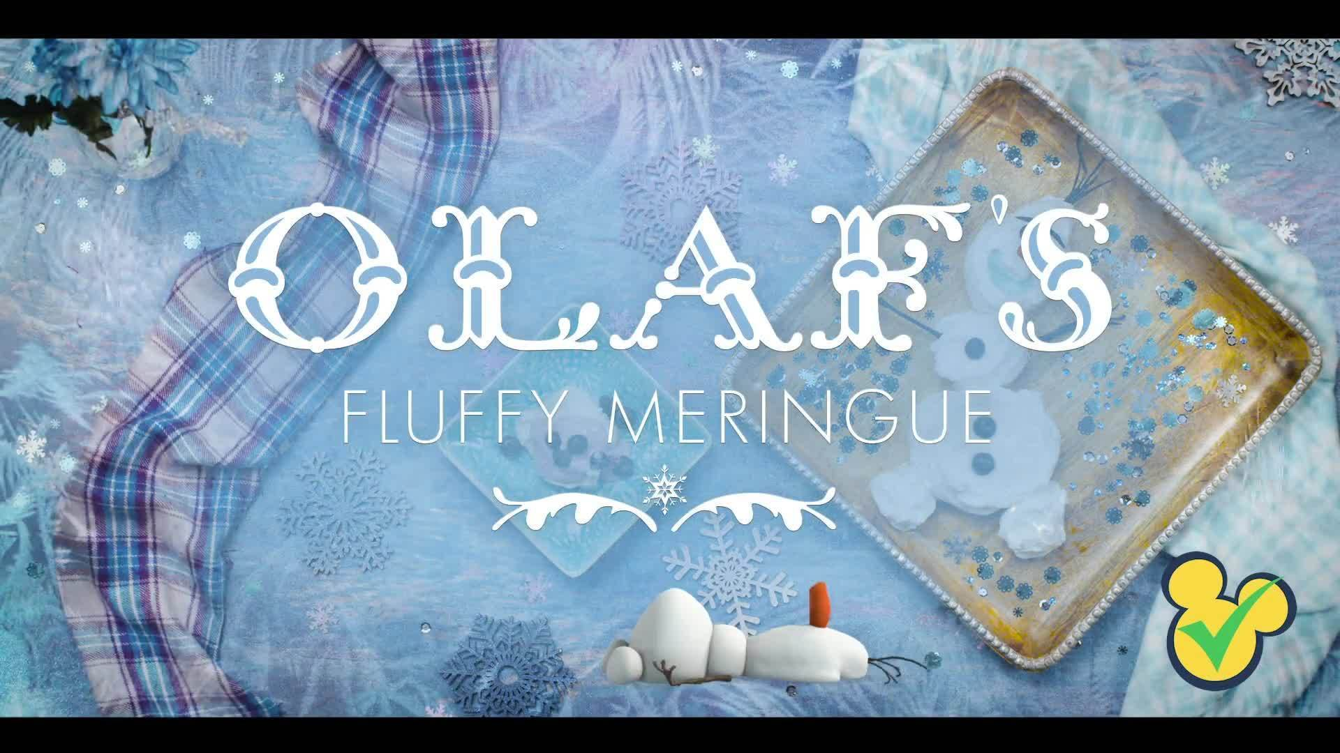 Olaf's Fluffy Meringue | Disney's Frozen