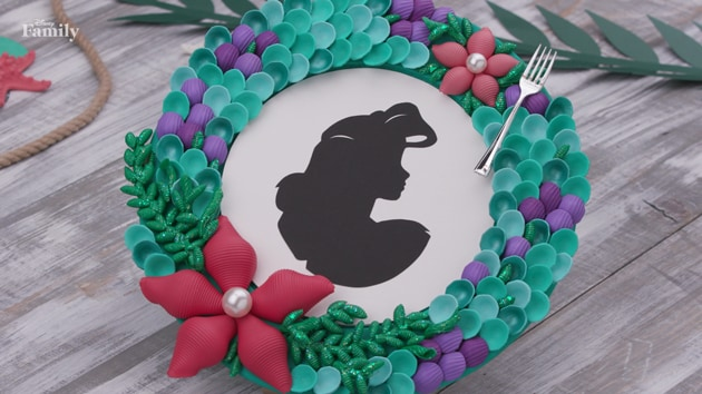 The Little Mermaid Pasta Shell Frame | Disney DIY by Disney Family