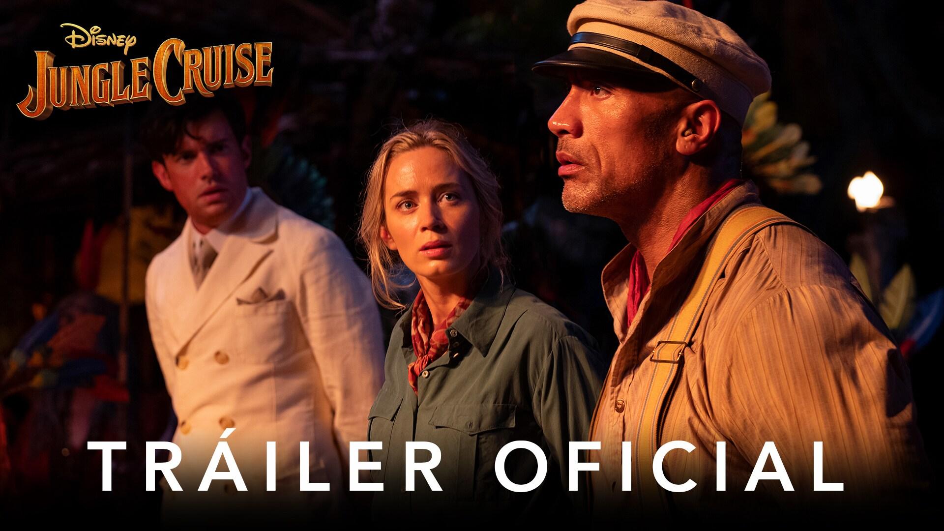 Jungle Cruise | Tráiler Oficial | Subtitulado