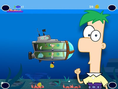 Phineas And Ferb Hoverboard Tour Game