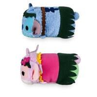 Stitch and Angel ''Tsum Tsum'' Plush Hawaiian Set - Mini 3 1/2''