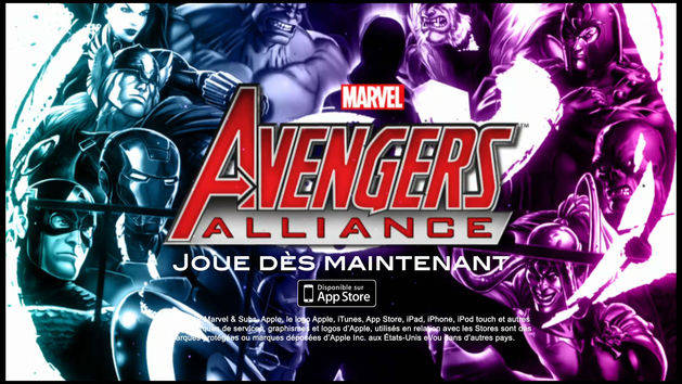 Apps - Avengers Alliance