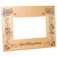 Image of Walt Disney World Minnie and Mickey Mouse Wedding Photo Frame by Arribas - Personalizable # 1