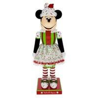 Minnie Mouse Cupcake Nutcracker Figure - 14''