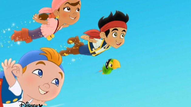 Jake and the Never Land Pirates  Jake Pirate School  Flying
