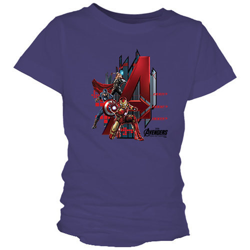 Marvel's Avengers: Age of Ultron Tee for Girls - Customizable