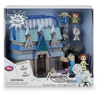 Image of Disney Animators' Collection Littles Frozen Micro Doll Play Set - 2'' # 4