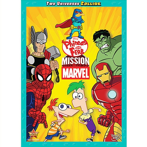 Phineas and Ferb: Mission Marvel DVD