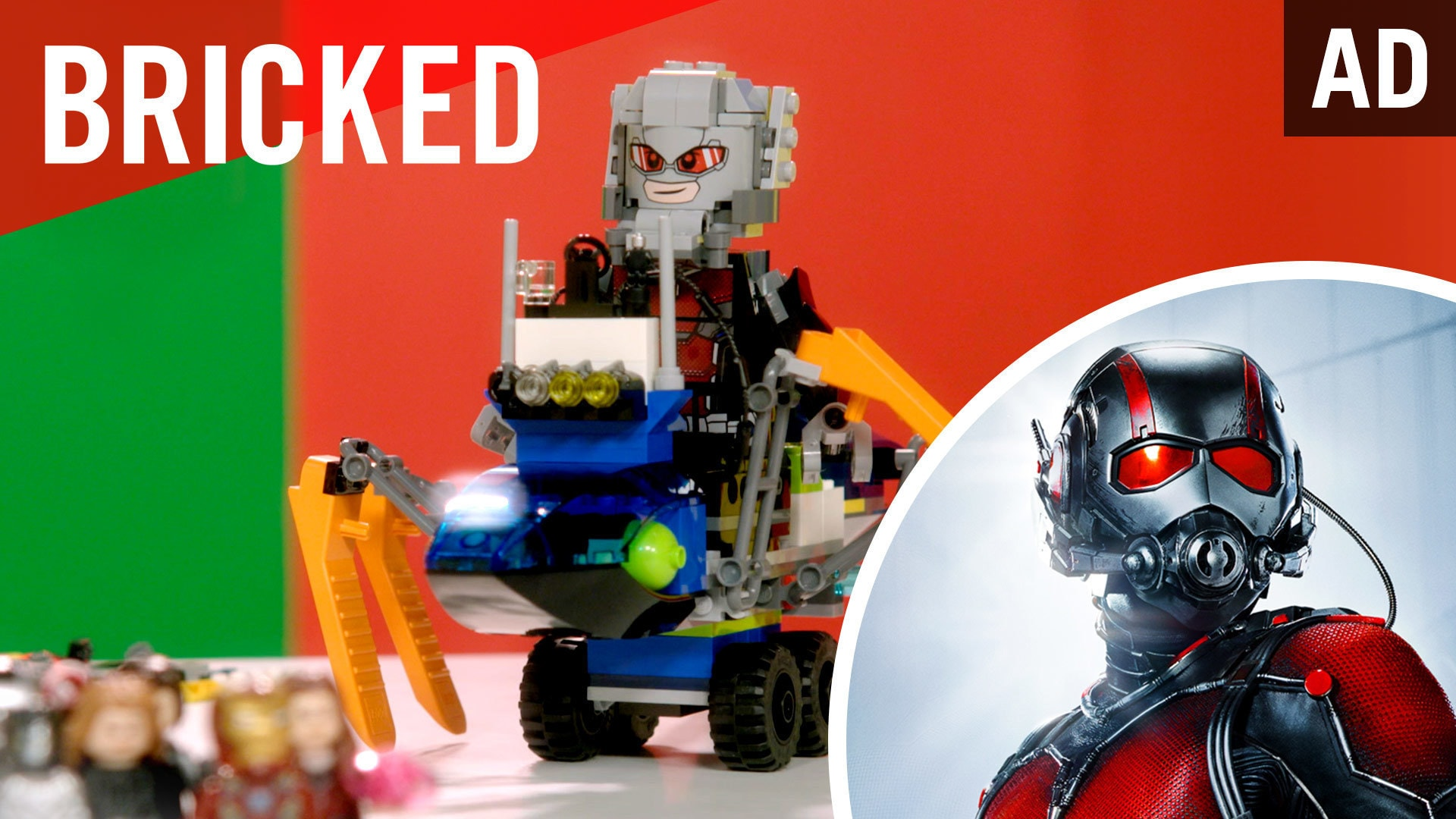 Bricked | LEGO Build Challenge | Marvel's Captain America: Civil War