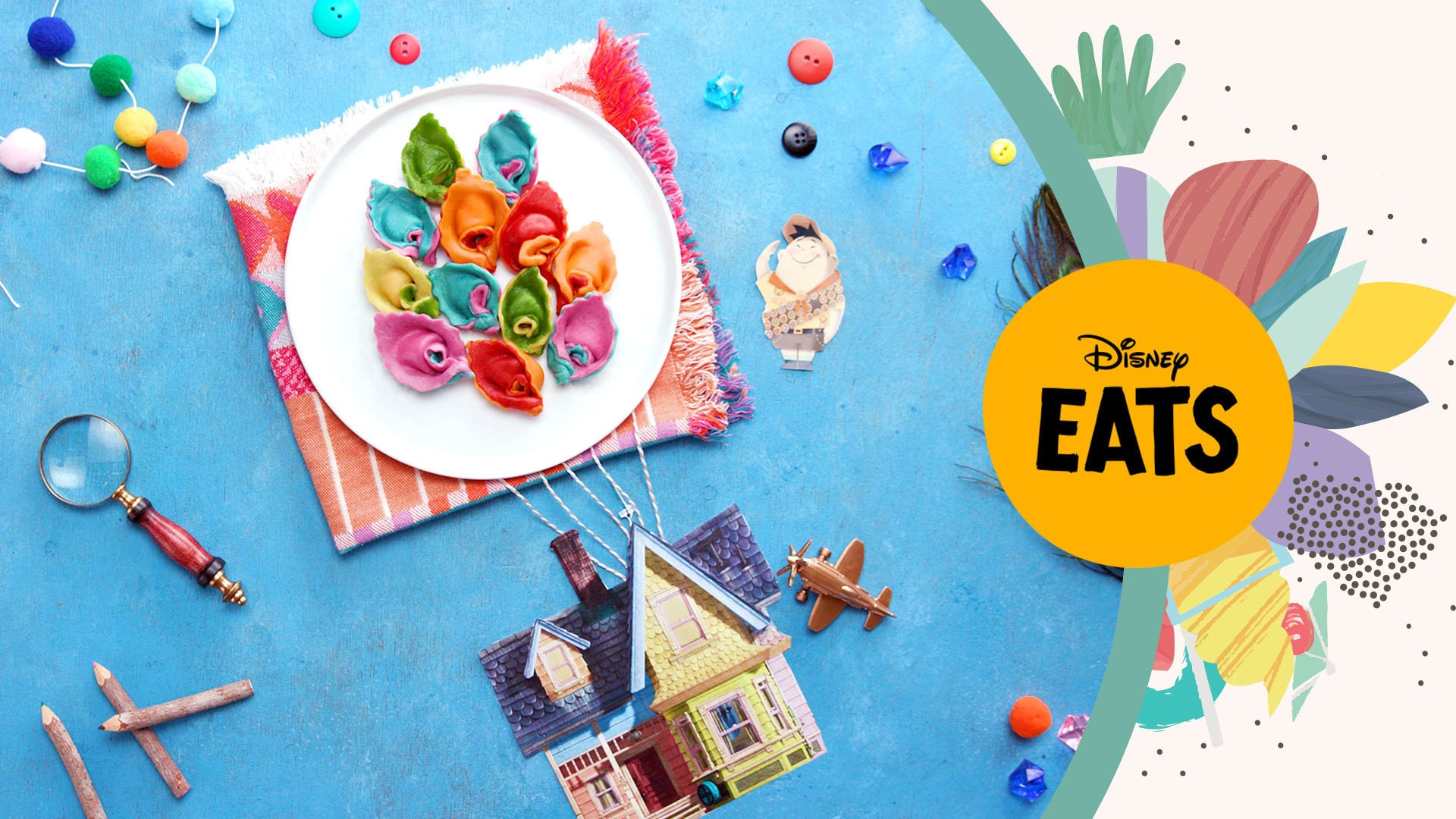Up Pasta Balloons | Disney Eats
