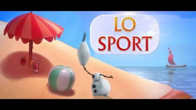 Frozen - Olaf e lo sport