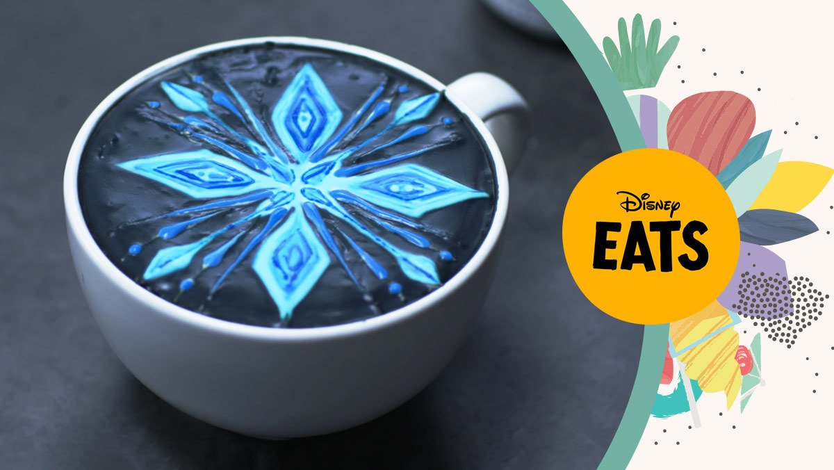 Frozen 2 Latte Art | Disney Eats