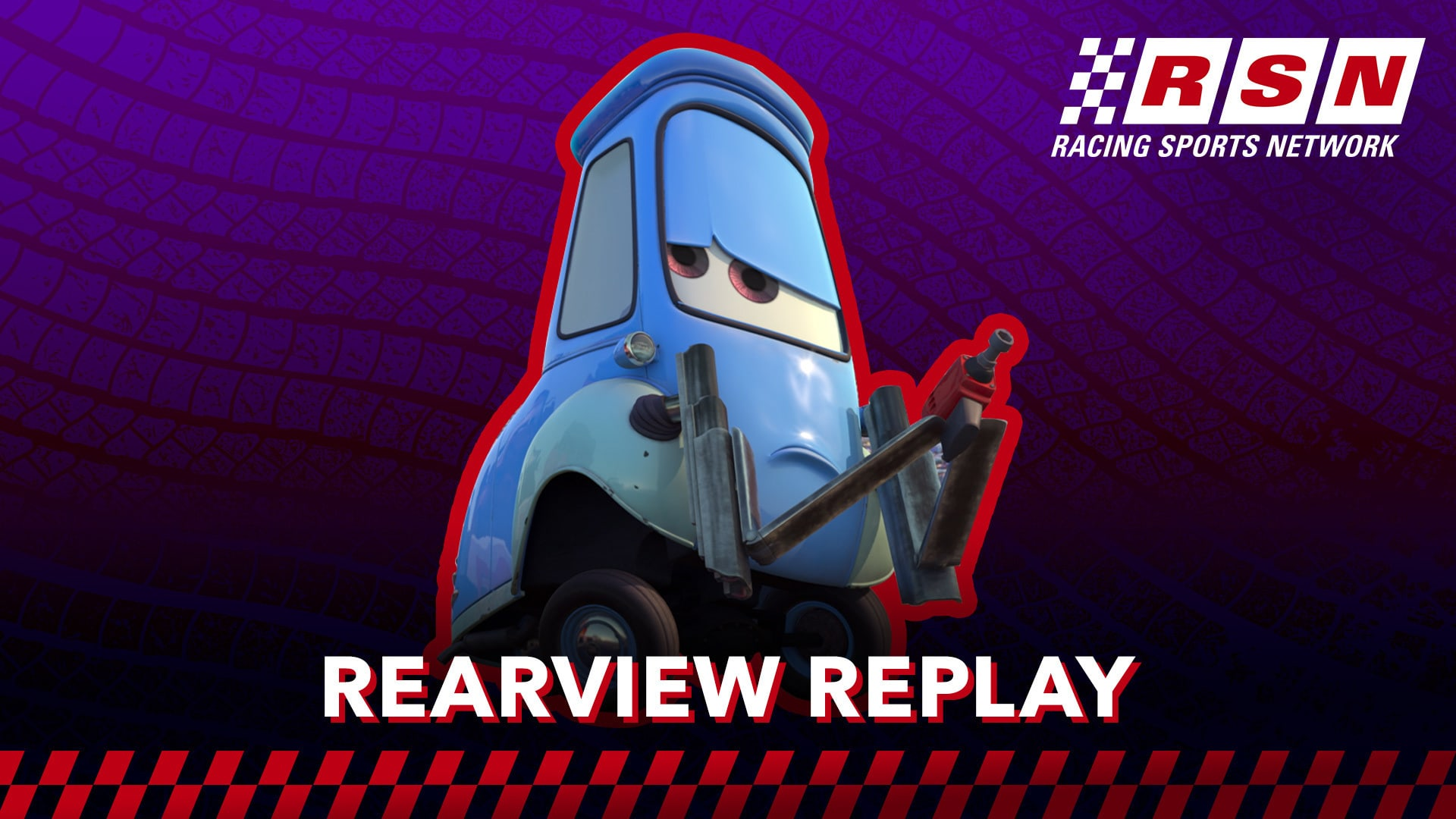 Rearview Replay: Guido's Quick Pit Stop   Racing Sports Network by Disney