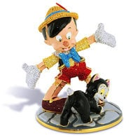 Pinocchio and Figaro Figurine