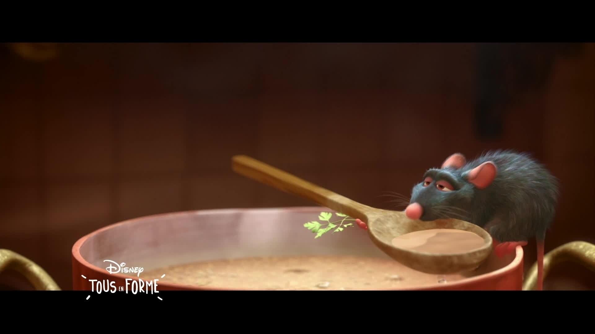 Disney Tous En Forme - L'astuce du jour : Qu'est-ce qu'on mange ?