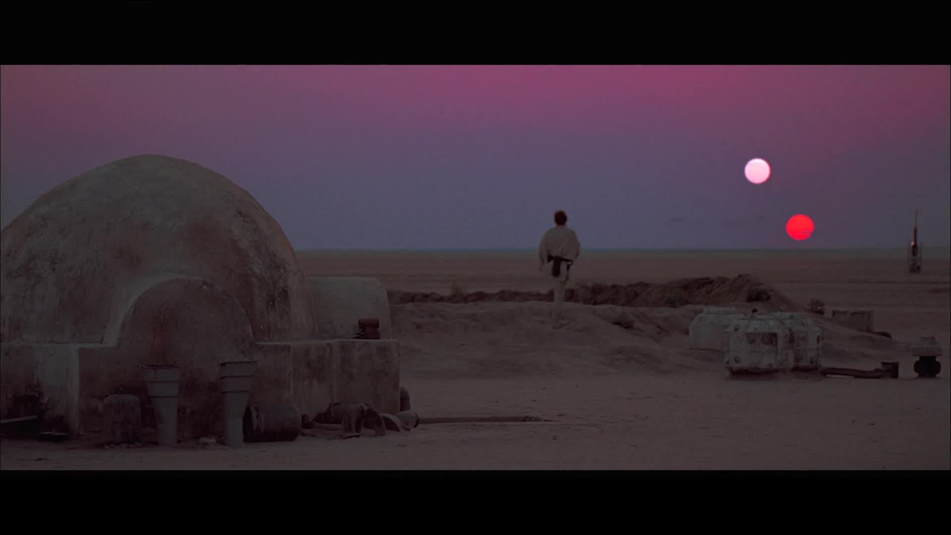 Binary Sunset - Star Wars The Digital Collection