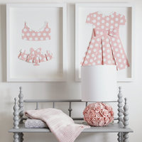 Minnie Mouse ''Pretty in Polka Dots I'' Framed Paper Art by Ethan Allen